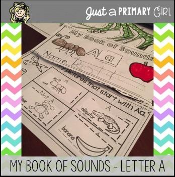 ~*Alphabet Mini Book - Letter A