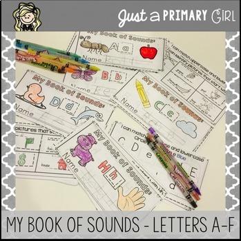 ~*Alphabet Mini Books A-F
