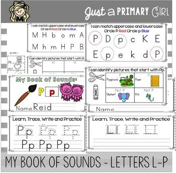 ~*Alphabet Mini Books L-P