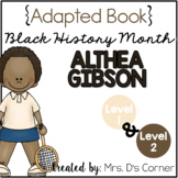 Althea Gibson - Black History Month Adapted Books [Level 1