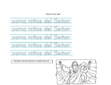 """Alzad las manos"" Spanish song for church"
