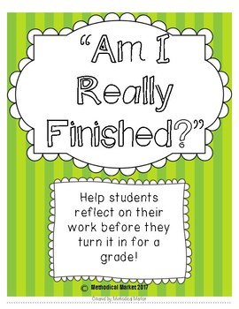 """Am I Really Finished?"" Poster"