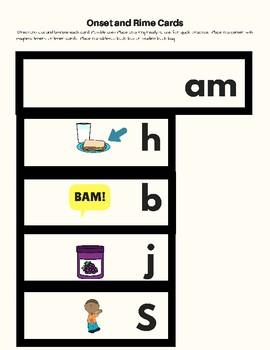 -Am Word Family Kit 26 pages (Blend Seg CVC) Transitional K, K, 1st, 2nd