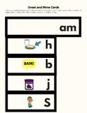 -Am Word Family Kit 26 pages (Blend Seg CVC) Transitional
