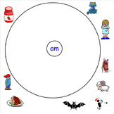 -Am Word Family Smartboard Activities