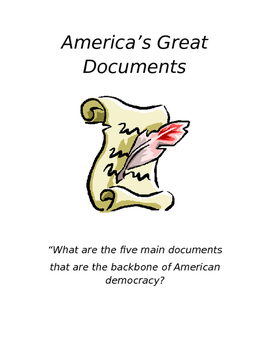 """America's Great Documents"" Printable Packet"