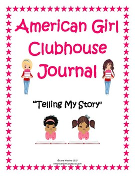 """""""American Girl Clubhouse"""" Journal Unit"""