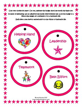 """American Girl Clubhouse"" Printable Merit Badges"