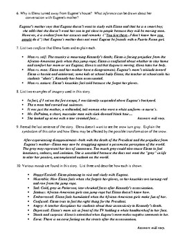 """American History"" Review Worksheet (or Test) and Comprehensive Answer Key"