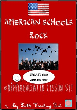 'American schools rock' lesson set