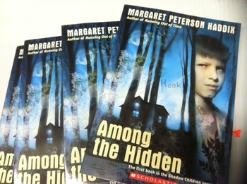 """Among the Hidden"" books, by Margaret Peterson Haddix - Literature Circle Set"
