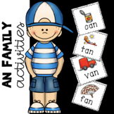 -An Family Words Center Activities