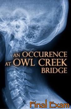 """An Occurrence at Owl Creek Bridge"" Final Exam"
