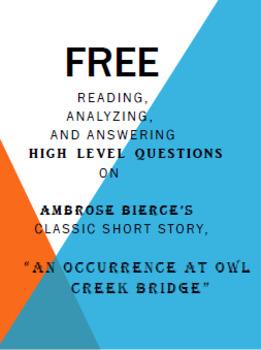 an occurrence at owl creek bridge flashback