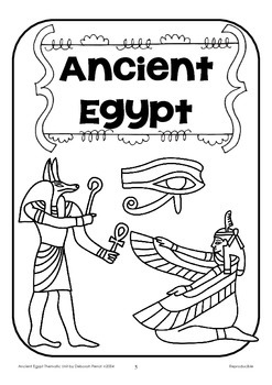 { Ancient Egypt Thematic Unit }