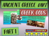 . Ancient Greece Unit (PART 1: GODS): Highly visual, interactive 60-slide PPT