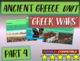 . Ancient Greece Unit (PART 4: WARS): Highly visual, interactive 60-slide PPT