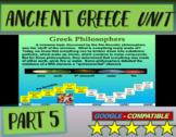 . Ancient Greece Unit (PART 5: PHILOSOPHERS): visual, interactive 60-slide PPT