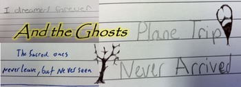"""And the Ghosts"" by Graham Foust; poetry; middle school; P"