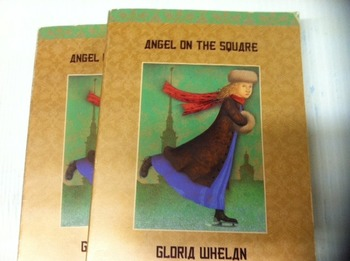 """Angels on the square"" books, by Gloria Whelan - Literature Circle set"