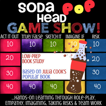 SODA POP HEAD by Julia Cook: School Counseling Lesson about Anger Management