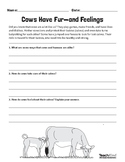 'Animal Coverings' Lesson Plan Pack