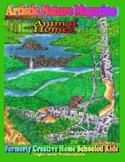 """Animal Homes"" Art & Nature Science Unit"