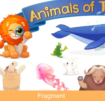 "♥ ""Animals of the World""  Poster"