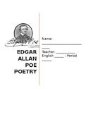 """""""Annabel Lee"""" Poetry Packet"""