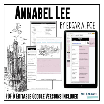 "Poetry Lesson: ""Annabel Lee"" by Edgar A. Poe {Google Digital Resource}"