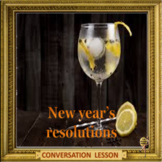 (Another) New year's resolutions -  ESL adult and kid conversation