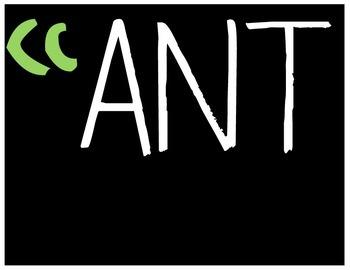 """Ansty"" for Kindergarten Bulletin Board Heading"