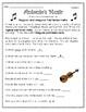 """Antonio's Music"" Guided Reading Program Work"