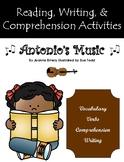 """Antonio's Music"" Guided Reading Program Activities"