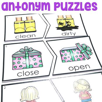 """""""Antonym Puzzles"""" Center"""