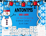 Antonyms Task Cards or Grammar Center or Scoot Game -40 cards