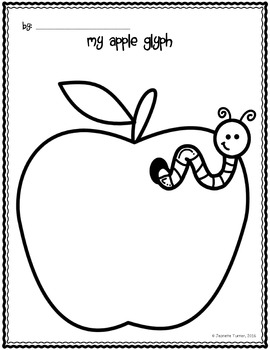 """Appily"" Ever After Apple Glyph"