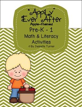 Apple Math & Literacy Activities Pre-K - 1