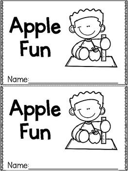 """""""Apple Fun"""" (Fall/September Emergent Reader Dollar Deal)"""
