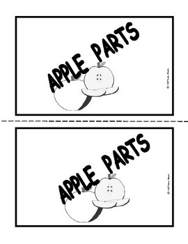 """Apple Parts"" Predictable Emergent Reader with Video And Skills!!- Pre.K., K., 1"