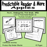 """""""Apple Parts"""" Pred, Emergent Reader with Video And Skills- PK-1"""