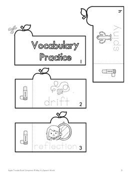 """""""Apple Trouble"""" Book Companion for Pre-K, Kindergarten, SDC"""