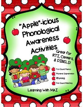 """Apple""icious Phonological Awareness"