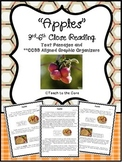 """""""Apples"""" 3rd-6th *CCSS Aligned* Close Reading Text Passages/Graphic Organizers"""