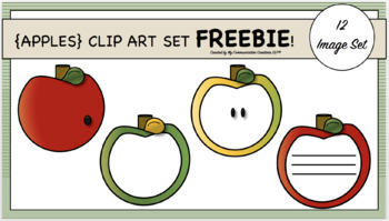 {Apples} Clip Art Set FREEBIE!!!
