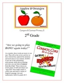 """Apples & Oranges"" Compare & Contrast 2nd Grade Common Core Packet"