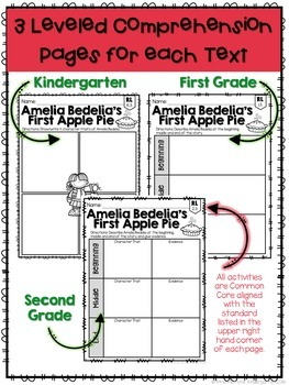 Apples: Reading Comprehension, Writing and Craftivities