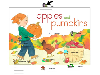 """""""Apples and Pumpkins"""" Graphic Organizers"""