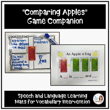 """""""Apples to Apples"""" - Game Companion for Vocabulary Intervention"""