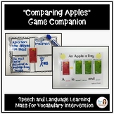 """Comparing Apples"" - A Game Companion for Vocabulary Intervention"